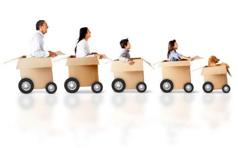 Kako olakšati selidbu i prevoz deci