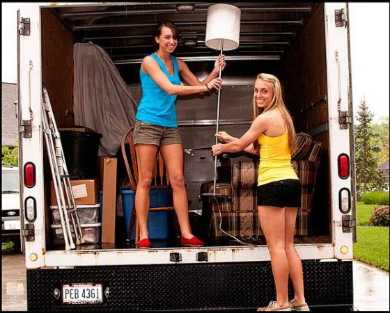 Saveti za bezbedno slaganje stvari u kamionu za selidbe